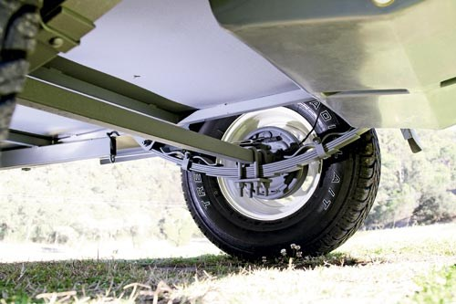 Camper Trailer Wheel