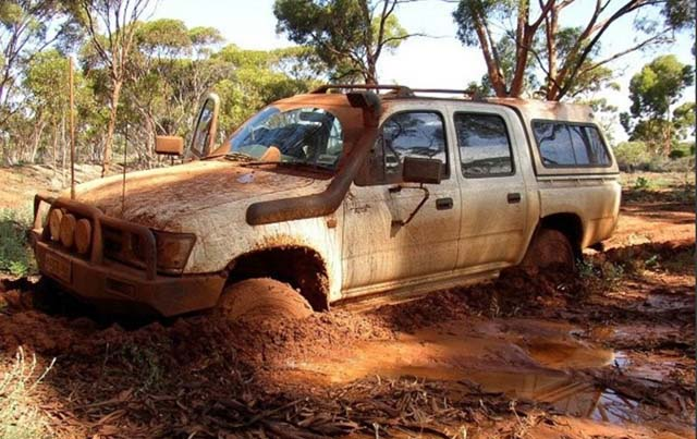 4wd Stuck In The Mud