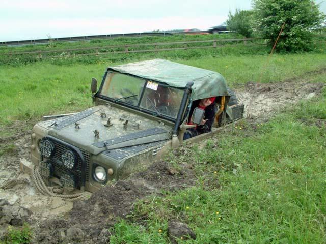 4wd In A Muddy Field