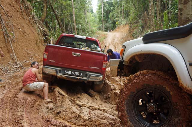Trucks Stuck In The Mud