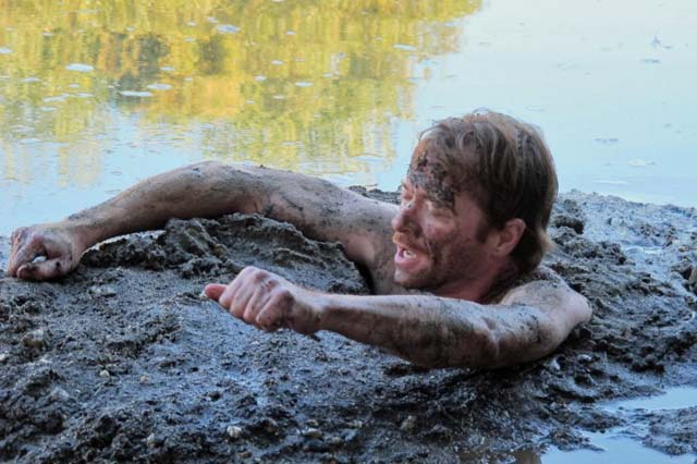 Man Stuck In The Mud