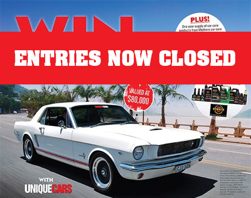 Mustang _entries _closed