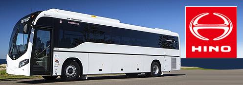 Hino bus header