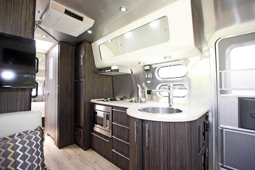 Airstream Caravan Kitchen