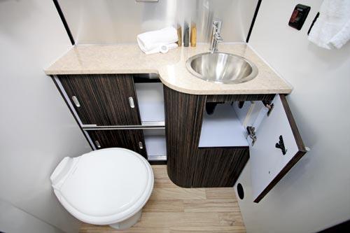 Airstream Caravan Bathroom