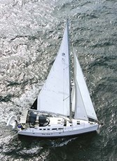 HUNTER 49 SAILING YACHT