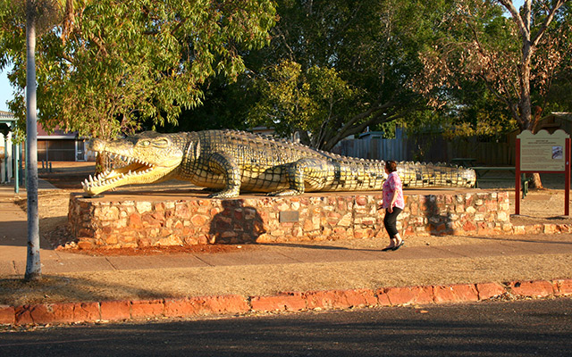 Normanton Big Crocodile