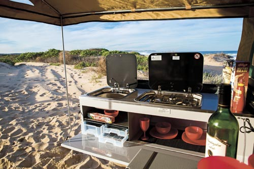 Camper Trailer Kitchen