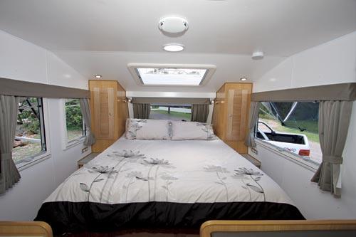 Bushtracker Caravan Bedroom