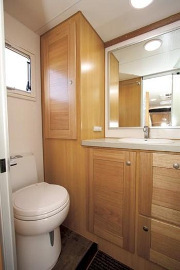 Bushtracker Caravan Bathroom