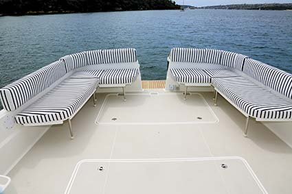 BACK COVE DOWNEAST 37 DECK
