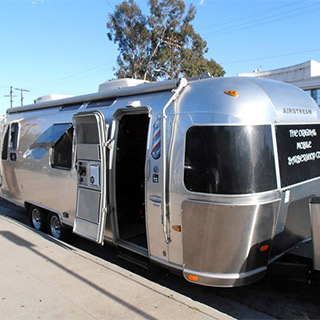 Airstream Caravan Mobile Shop