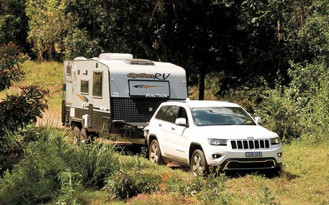 Option Caravan And Tow Vehicle