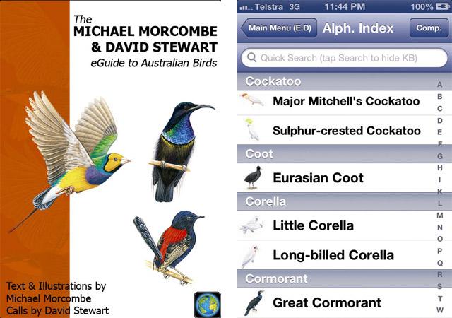 Eguide To Australian Birds App