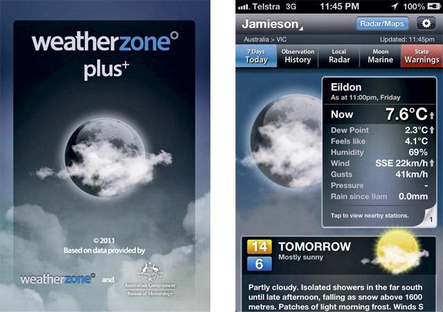 Weather Zone Plus App