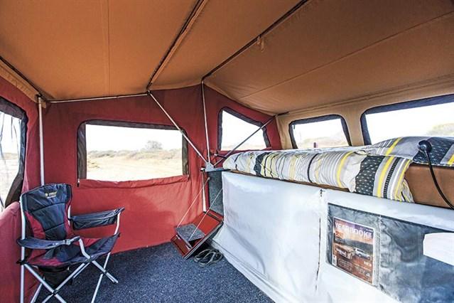 Inside A Camper Trailer