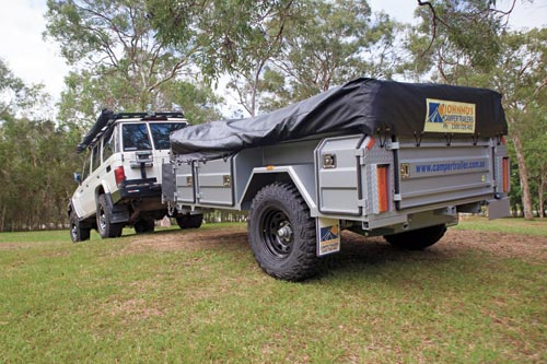 Johnnos Camper Trailer Towing