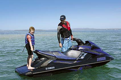 YAMAHA FX SVHO WAVERUNNER SEATING