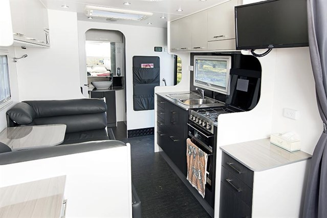 New Age Caravan Kitchen And Dinette