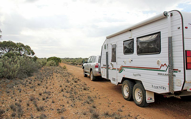 On The Old Eyre Highway Near Bunabie Blowhole