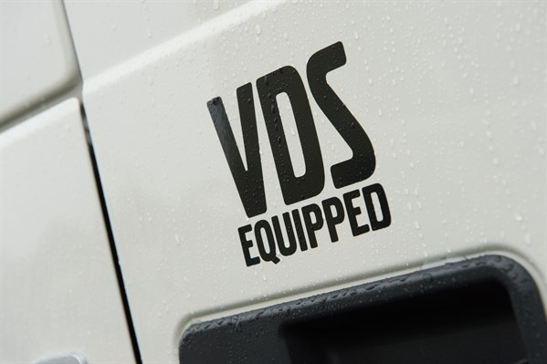 VDS Equipped sticker