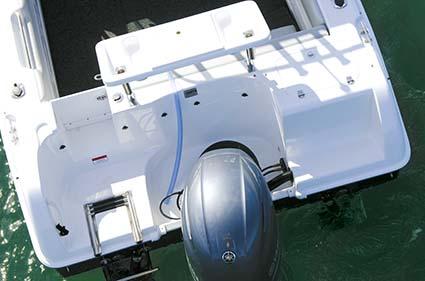 Yamaha Outboard on Cruise Craft Explorer