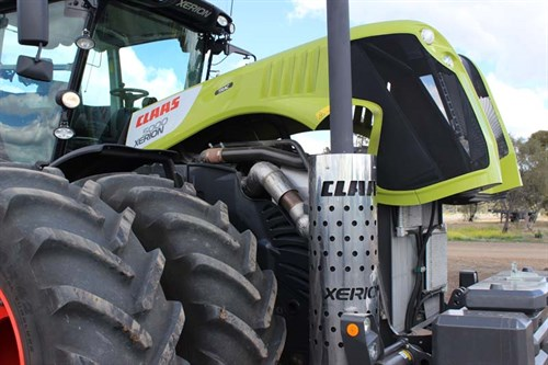 Claas Xerion 5000_air Filtration _9717