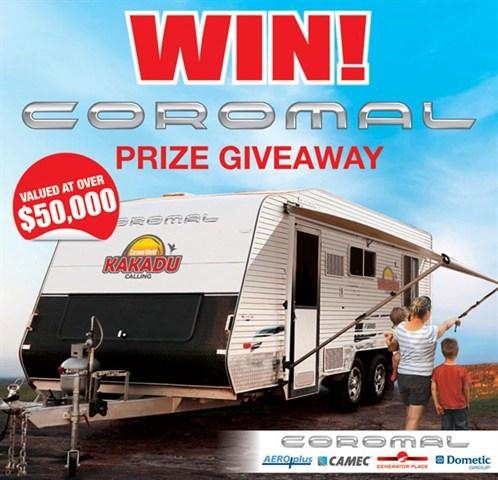 Win a Coromal Caravan