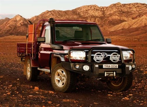 Land Cruiser 30yrs