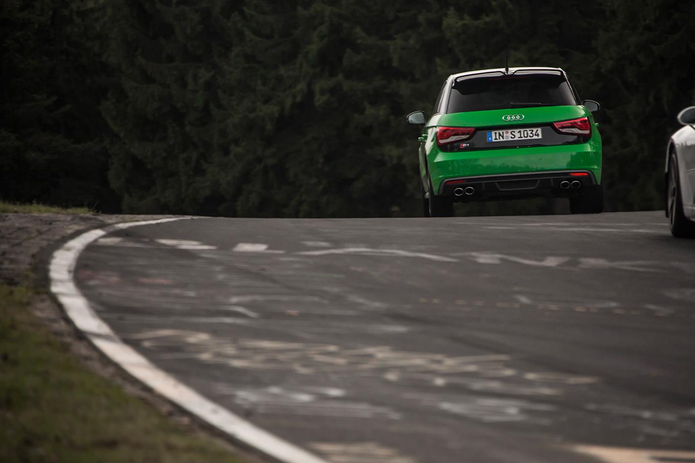 Audi S1 at the Nurburgring