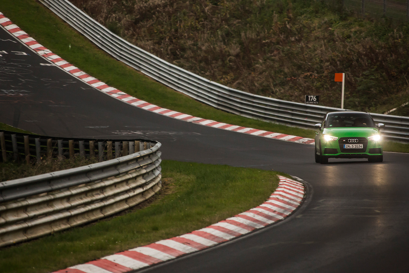 Audi S1 at the Nurburgring