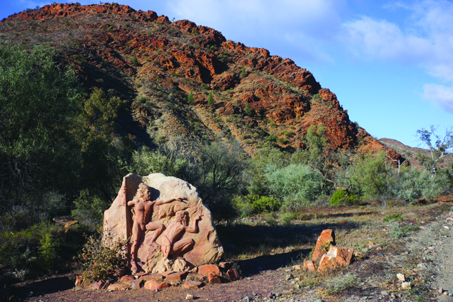 16-Entry To Arkaroola