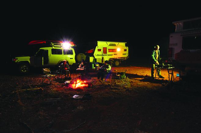 12-camp Scene