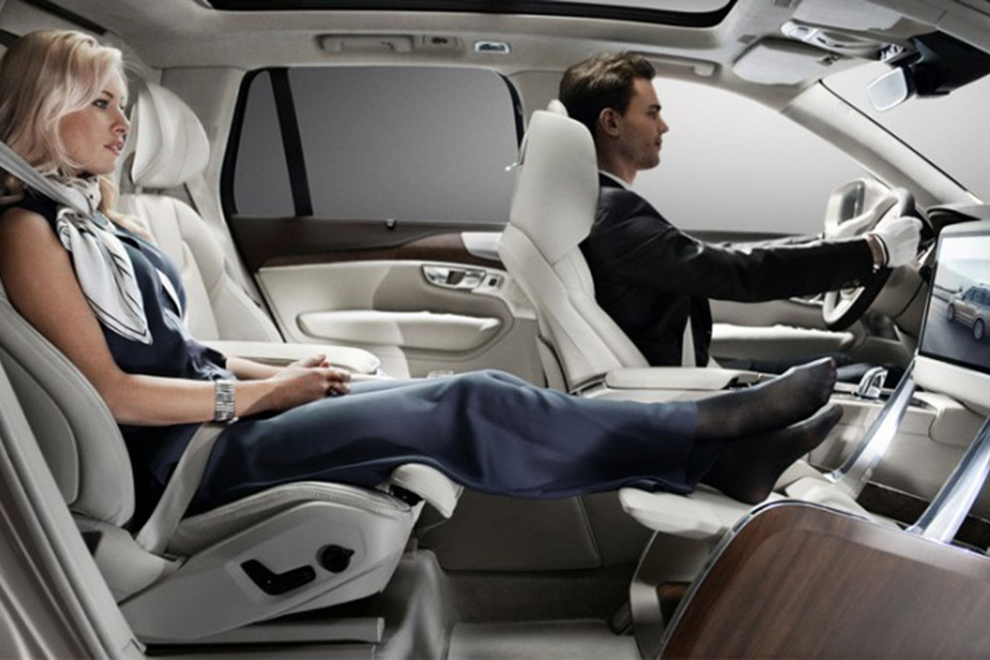 2015 Volvo XC90 Excellence Lounge Console