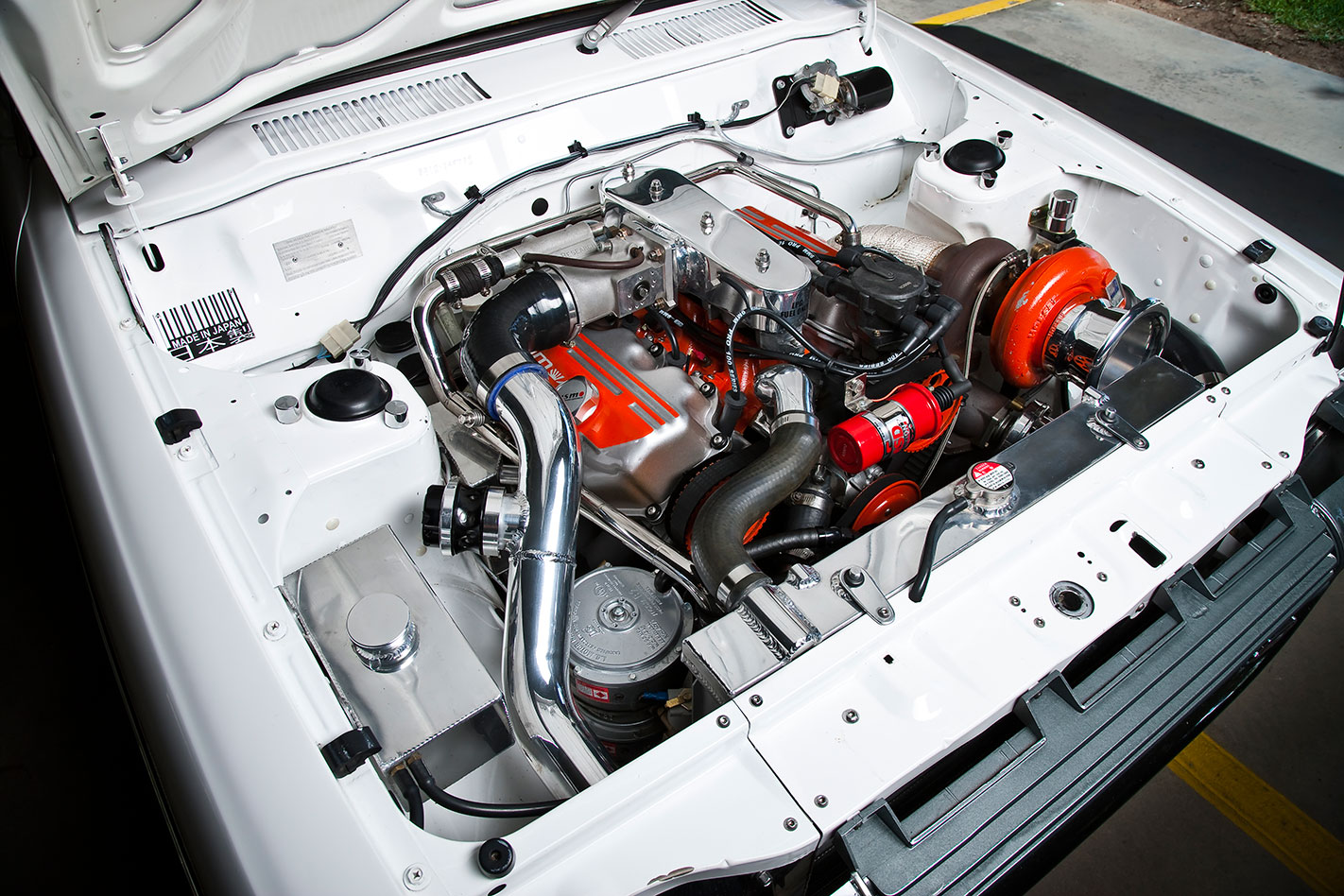 ULTIMATE SLEEPER: 11-SECOND DATSUN 120Y TURBO V6
