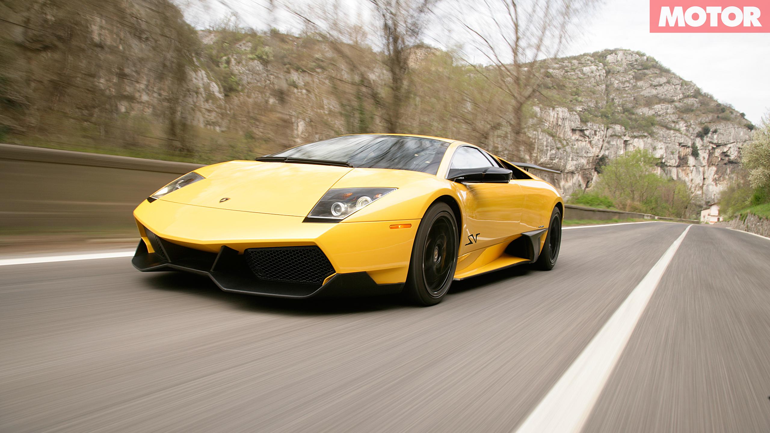 Lamborghini's Murcielago LP670-4 SV