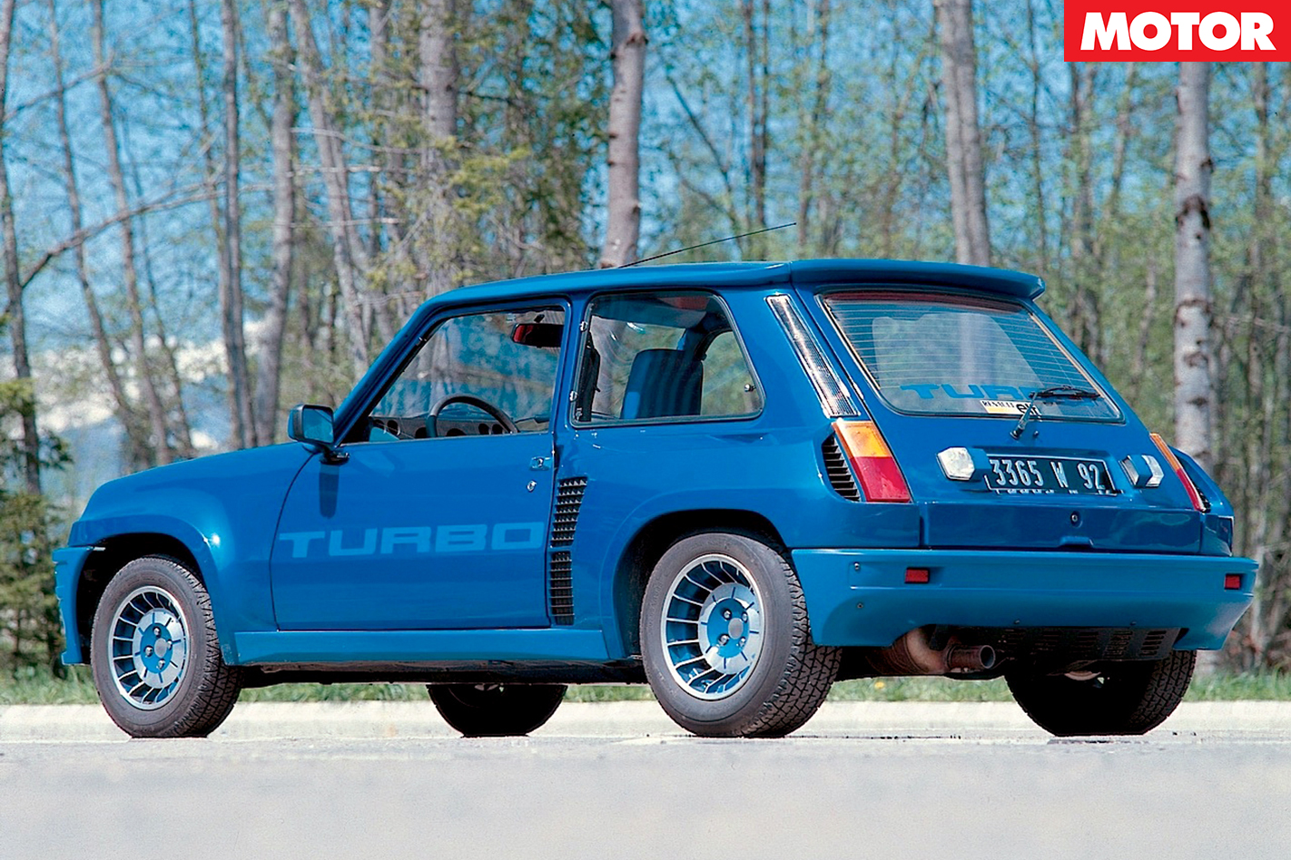 1983 RENAULT 5 TURBO