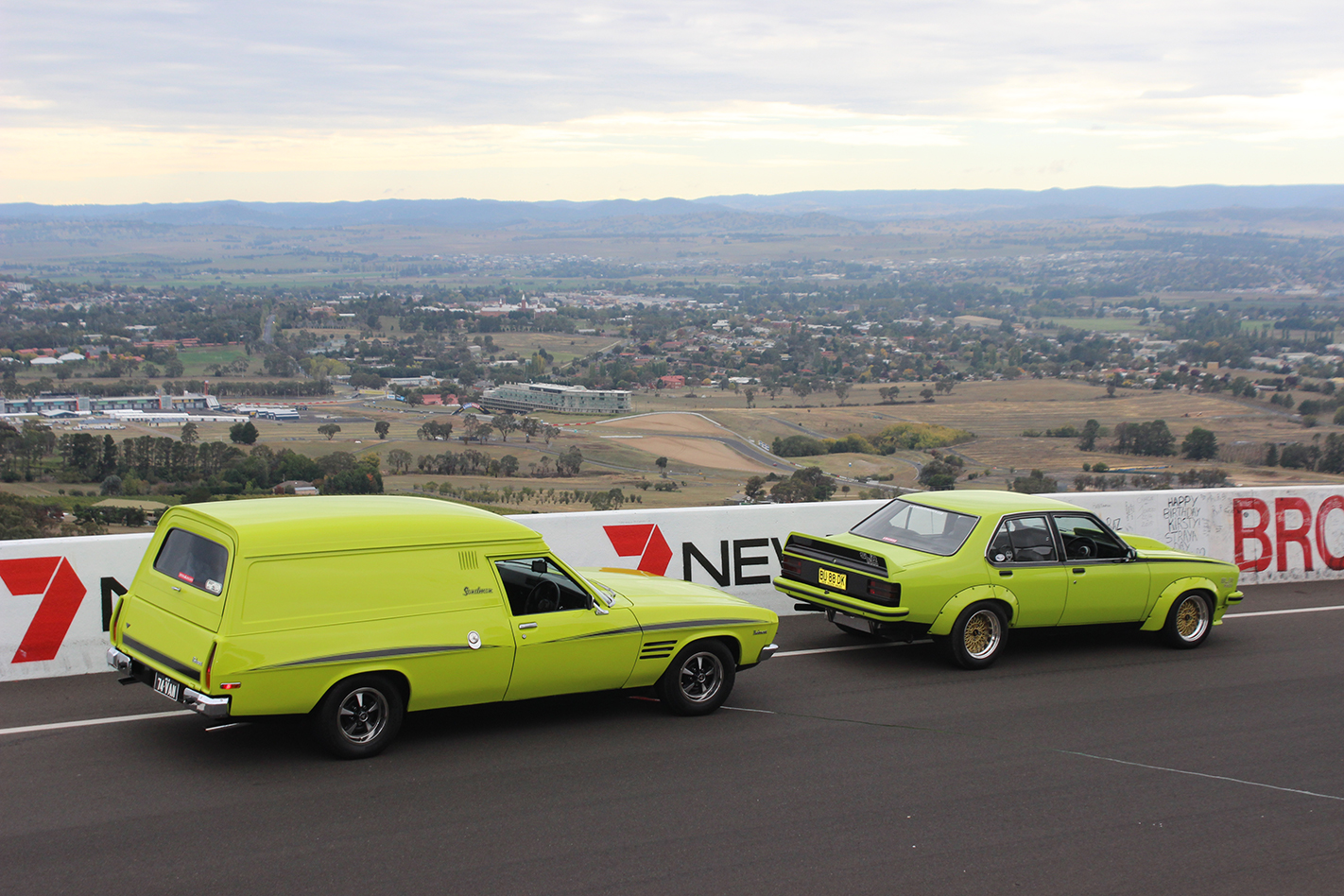 40th Australian Van Nationals held in Bathurst over Easter 2015