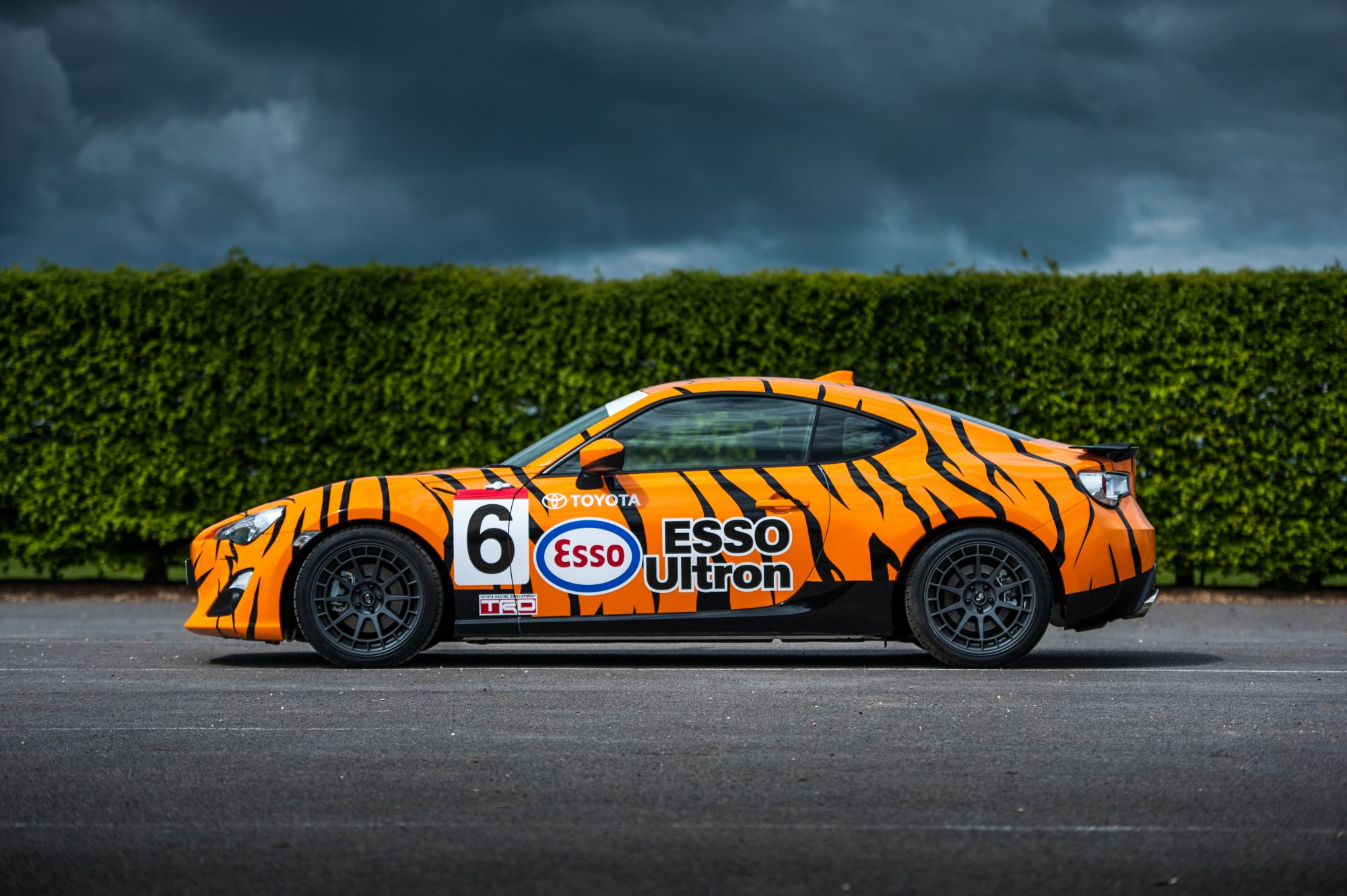 Toyota 86 in iconic livery for Goodwood