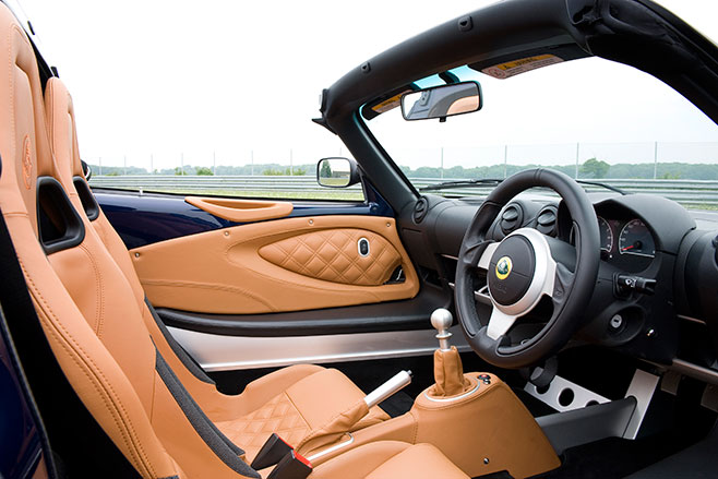 658 Lotusexige S Roadster Nightfall Blue Interior 0009
