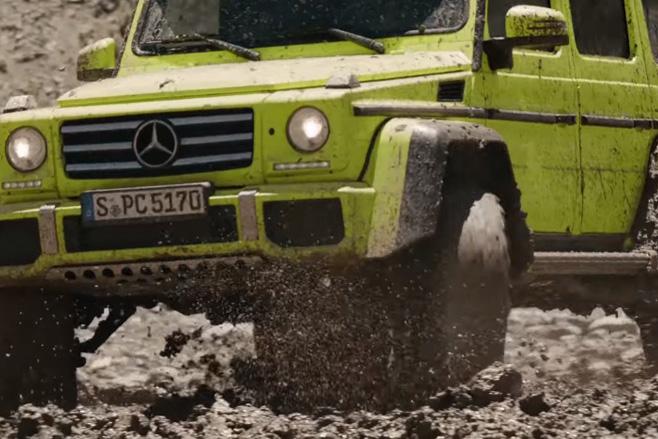 Mercedes -benz -g 500-5