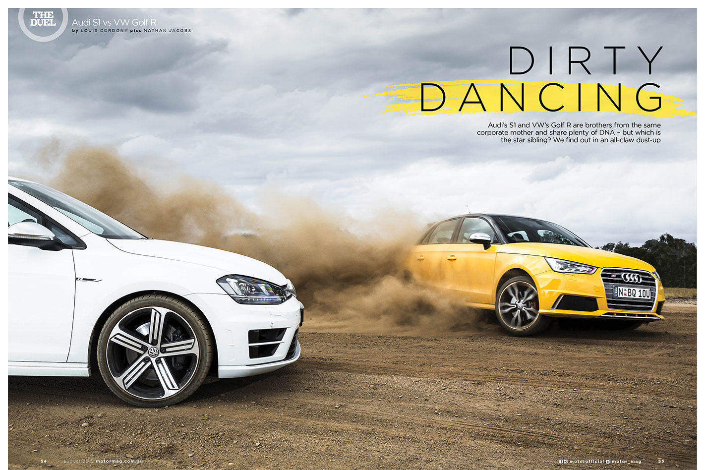 Audi S1 vs VW Golf R