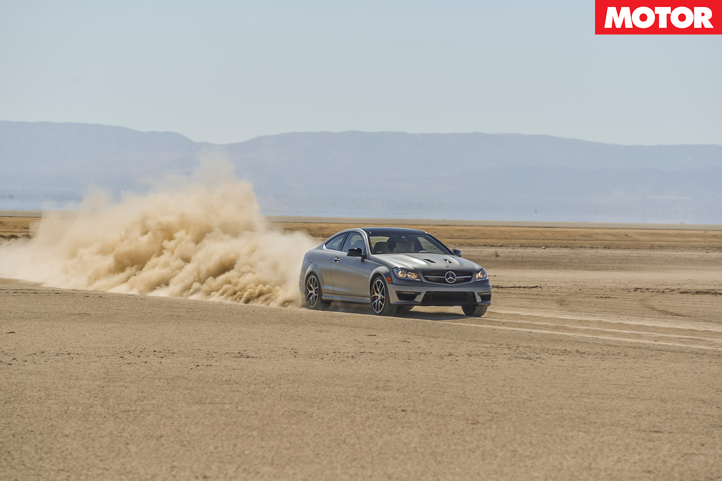 Mercedes-AMG C63 507 in the Desert