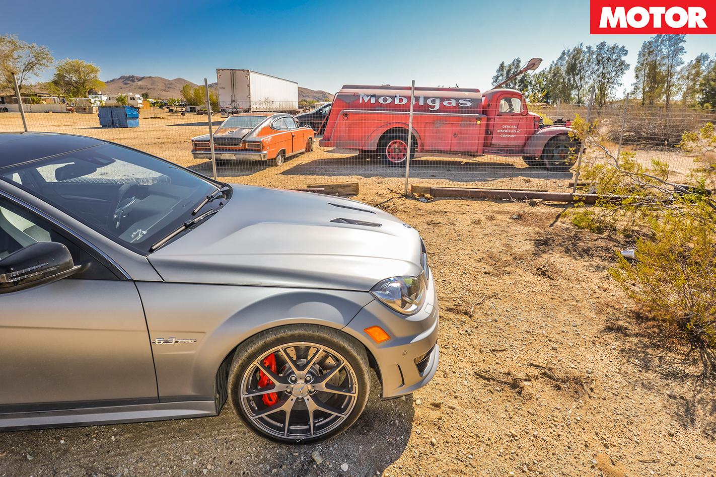 Mercedes-AMG C63 507 in the Desert