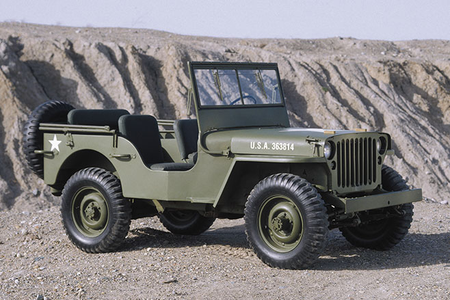 Ww 2-Jeep -in