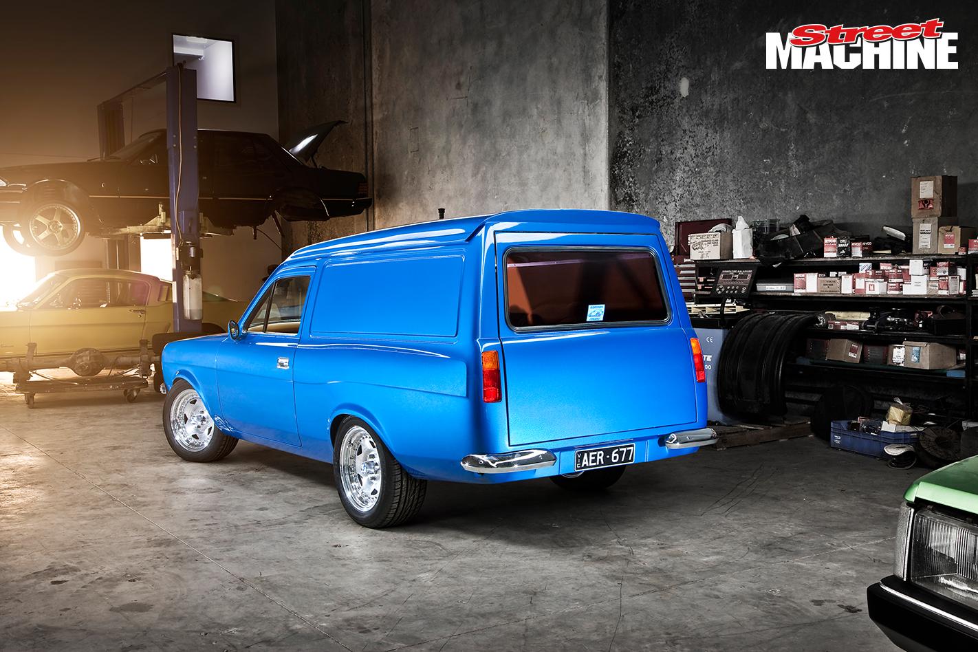 Elite Ford Escort Panel Van Show Car