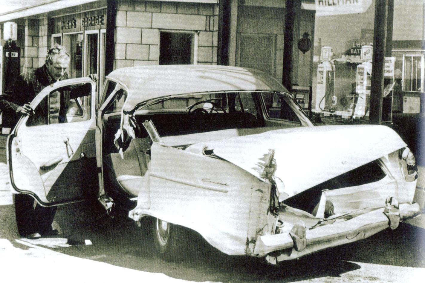 Eddie Cochran's Ford taxi