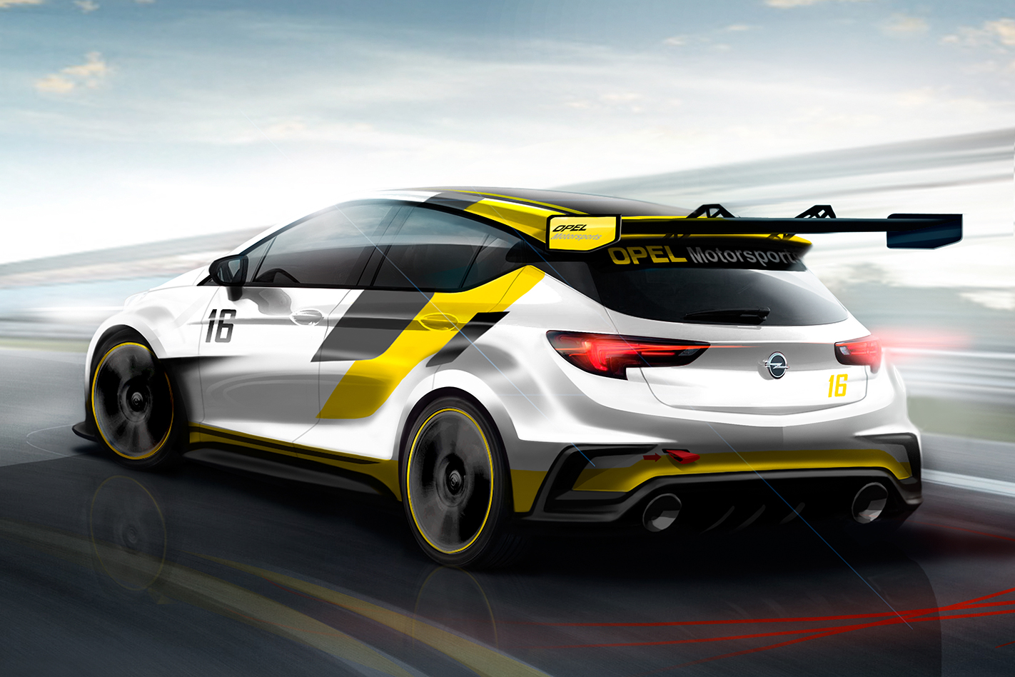 2015 Opel Astra widebody