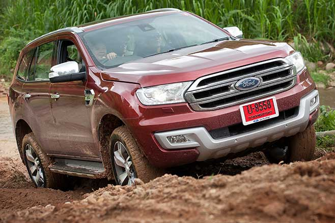 new ford everest 4x4 suv. Black Bedroom Furniture Sets. Home Design Ideas