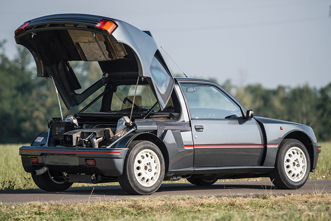 peugeot 205 t16 up for auction. Black Bedroom Furniture Sets. Home Design Ideas